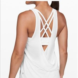 NWOT Lululemon Reenergized 2-in-1 Tank